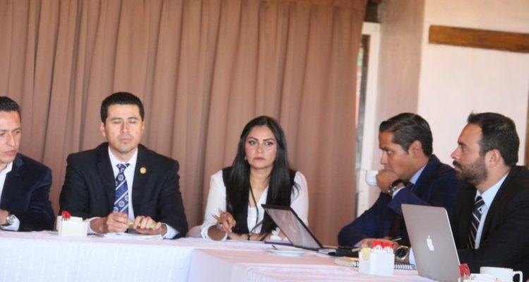 Araceli Saucedo destaca aportaciones de la PGJE en estudio de iniciativas para unaLey Orgánica fortalecida