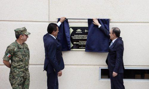 Inaugura Michoacán el C5-i más grande de América Latina