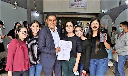Recibe Nacho Campos la Constancia de Mayoría, Para la Presidencia Municipal