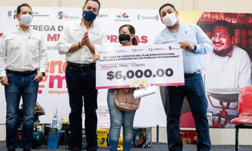 Uruapan refrenda liderazgo en materia de financiamiento a las Mipymes