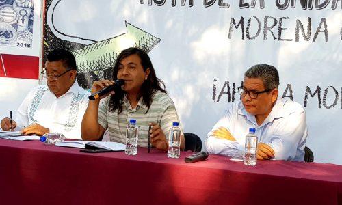 Morena quiere que le vaya bien al gobernador de Michoacán.