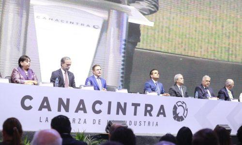 Reconoce Canacintra a Gobernador como aliado de los industriales del país