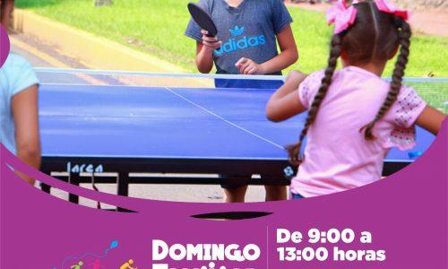 "Diversifican actividades del ""Domingo Familiar"""