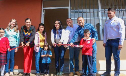 Suman más de 160 MDP invertidos en espacios educativos en gestión de Víctor Manríquez