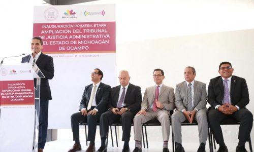 Organismos autónomos dan certeza jurídica a la sociedad: Silvano Aureoles