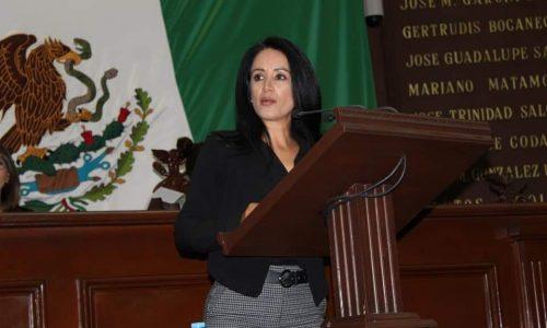 Lucila Martínez se pronuncia por dar facultad al Congreso, para resolver conflictos territoriales en Michoacán