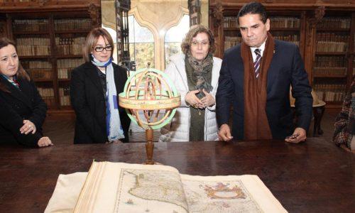 Fortalece Gobernador vínculos académicos y turísticos con la Universidad de Salamanca